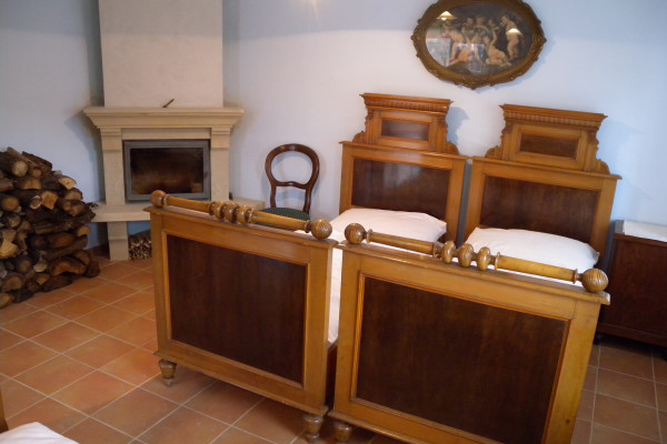 Ubytování domeček, Modrý pokoj č. 1