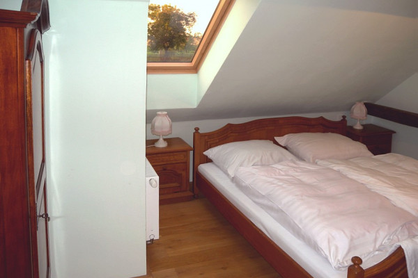 Ubytování domeček, Zelený pokoj č. 3